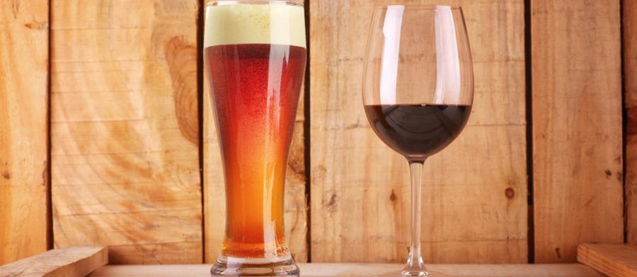 Beer vs. wine image