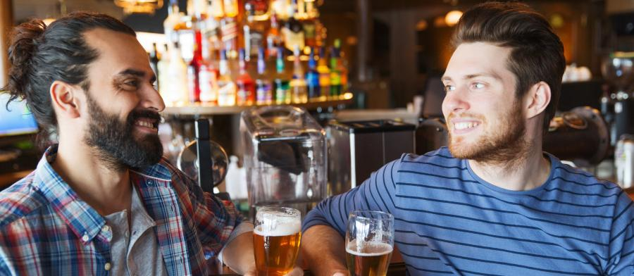 guys at a bar