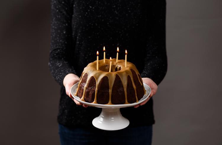 Gâteau d'anniversaire à la bière