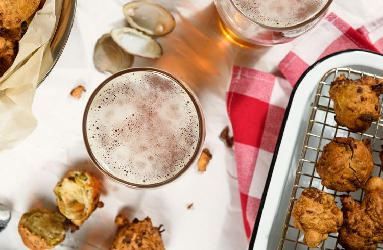 Clam and Beer Fritters
