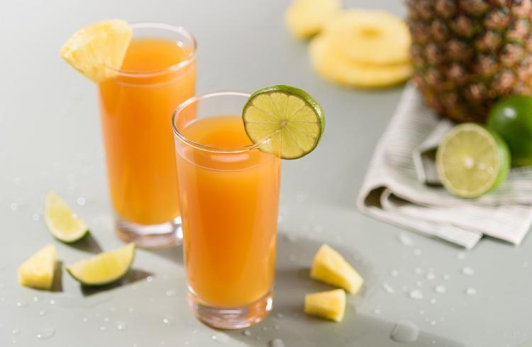Pineapple Lime Mocktail