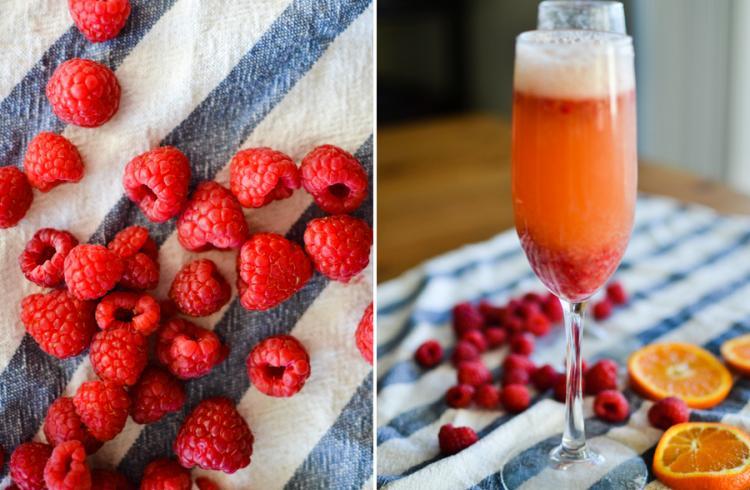 Raspberry Beermosa