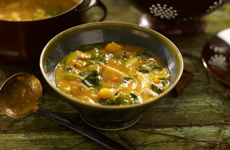 Chicken and Sweet Potato Soup