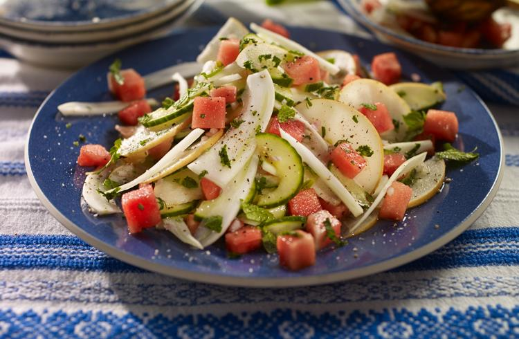 Fennel and Melon Slaw