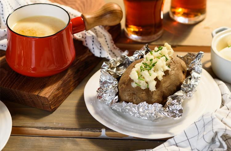 pommes de terre r ties au beurre de bi re beer canada 39 s taproom. Black Bedroom Furniture Sets. Home Design Ideas