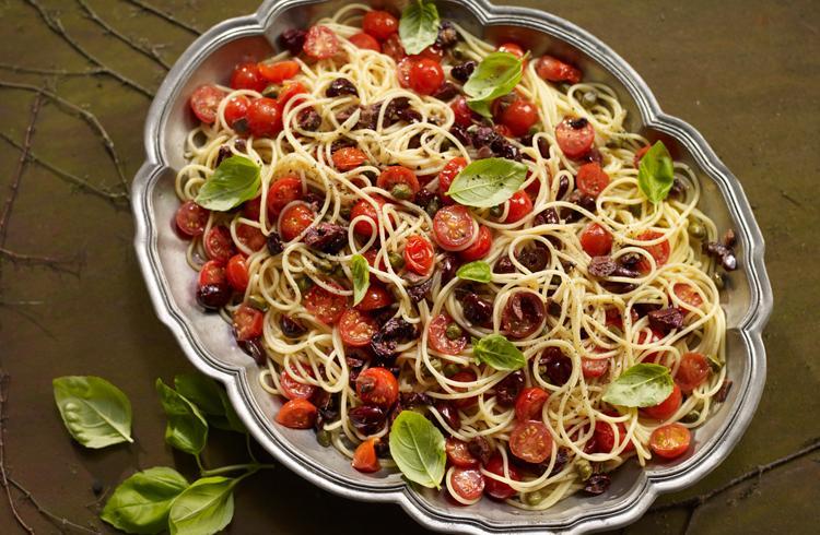 Tomato and Caper Pasta