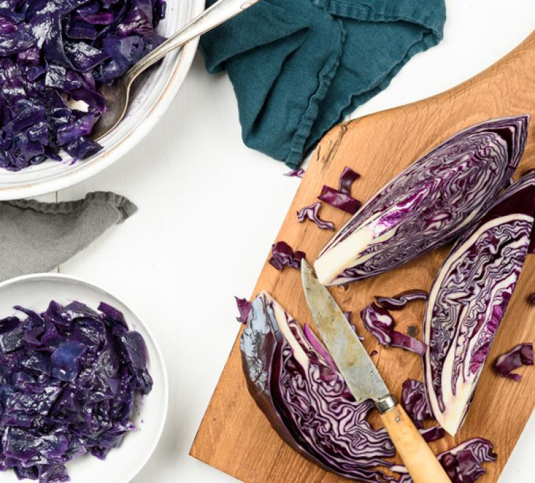 Braised Amsterdam Red Cabbage