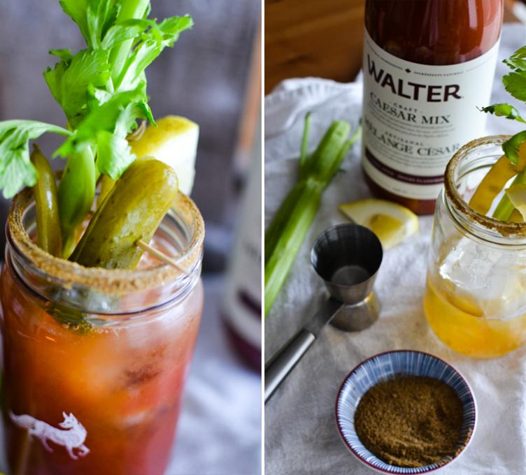 Bloody Mary à la Dirty Blonde
