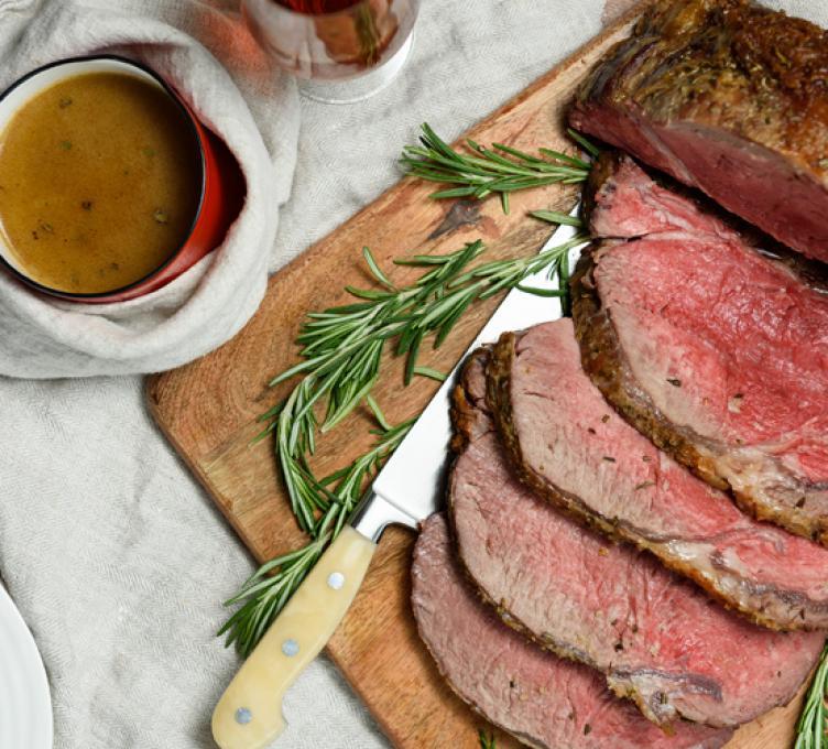 Côte de bœuf rôtie