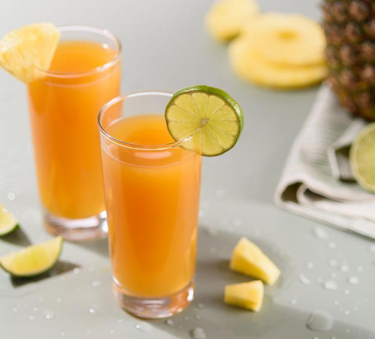 Mocktail à la lime et à l'ananas