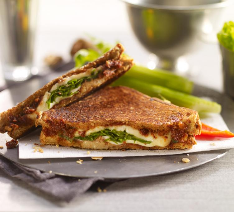 Arugula and Mozzarella Panini